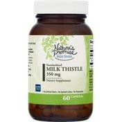 Nature's Promise Milk Thistle, Standardized, 350 mg, Capsules