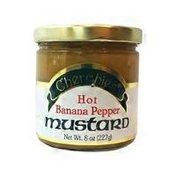 Cherchies Hot Banana Pepper Mustard