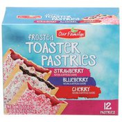 Our Family Toaster Pastries Variety Pack