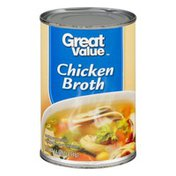 Great Value Chicken Broth, Canned, 14.5 oz