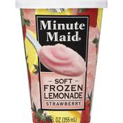 Minute Maid Frozen Lemonade, Soft, Strawberry