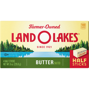 Land O Lakes Salted Butter in Half Sticks