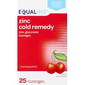 Equaline Zinc Cold Remedy, Lozenges, Cherry Flavor