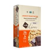 NuGo Slim Peanut Butter, Gluten Free, Low Sugar, Vegan Protein Bar