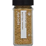 Spicely Organics Seed Mustard, Yellow, Organic