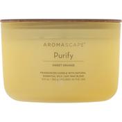Aromascape Candle, Sweet Orange, Purify