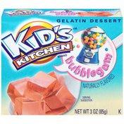 Kid's Kitchen Bubblegum Gelatin Dessert