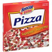 Special Value Supreme Pizza