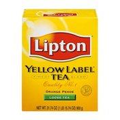 Lipton Yellow Label Tea Orange Pekoe Loose Tea