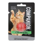 Companion Cat Toy Spiked Light Up Ball