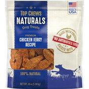 Top Chews Naturals 100% Natural Dog Treats Premium Chicken Jerky Recipe