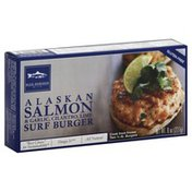 Blue Horizon Surf Burger, Alaskan Salmon, & Garlic, Cilantro, Lime