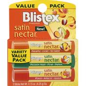 Blistex Lip Moisturizer, Variety Value Pack