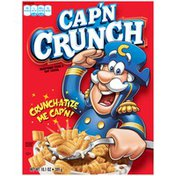 Cap'N Crunch Red Box Cereal