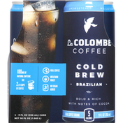 La Colombe Coffee Drink, Real, Brazilian, Cold Brew