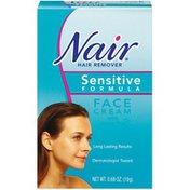 Nair Face Cream W/Green Tea Sensitive Formula Hair Remover