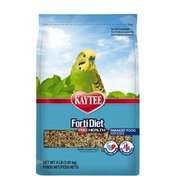 Kaytee Parakeet Healthy Support Diet with DHA, Omega-3, Probiotics & Fortified Pieces for Skin & Feather Health
