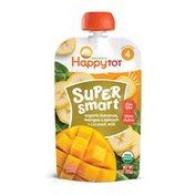 Happy Tot Bananas, Mangos & Spinach+ Coconut Milk