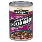 KC Masterpiece Baked Beans, Smoked Bacon, Applewood, Slow Cooked