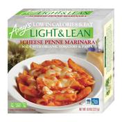 Amy's Kitchen Frozen Light & Lean 3 Cheese Penne Marinara, Non-GMO