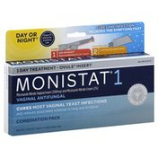 MONISTAT Vaginal Antifungal, 1 Day Treatment, Day or Night, Combination Pack
