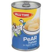 Valu Time Pear Halves In Light Syrup