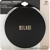 Milani Shine-Proof Powder, Nude 02