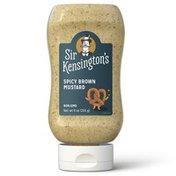 Sir Kensington's Mustard, Spicy Brown,