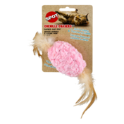 SPOT Chenille Chasers Catnip Cat Toy Oval