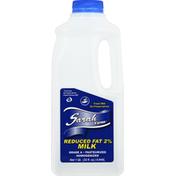 Sarah Farms Milk, Reduced Fat, 2%