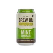 Brew Dr. Kombucha Organic Mint Lemonade Kombucha