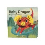 Chronicle Books Baby Dragon Finger Puppet Book