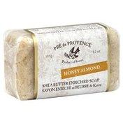 Pre De Provence Soap, Bar, Honey Almond, Bag