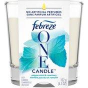 Febreze Candle Air Freshener, Peppermint & Rosemary