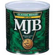 MJB Classic Roast Fine Grind Coffee