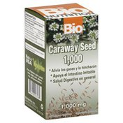 Bio Nutrition Caraway Seed, 1,000 mg, Vegetarian Capsules