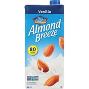 Almond Breeze Almond Beverage, Vanilla, Fortified
