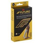 3M Futuro Open Toe, Open Heel, Knee Length for Men & Women Beige XLarge