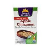 Natural Directions Organic Apple Cinnamon Instant Oatmeal
