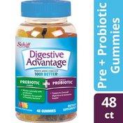 Digestive Advantage Prebiotic Fiber Plus Probiotic Gummies