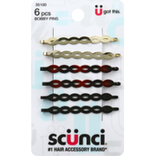 Scunci Bobby Pins