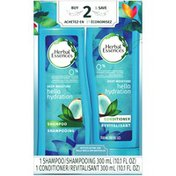 Herbal Essences Hello Hydration Shampoo and Conditioner with Coconut Essences Dual Pack, 20.2 fl