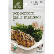 Simply Organic Marinade Mix, Peppercorn Garlic