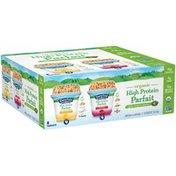 Stonyfield® Organic High Protein Parfait Greek Yogurt & Granola Variety Pack