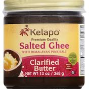 Kelapo Ghee, Salted, with Himalayan Pink Salt