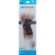 Donjoy Knee Compression, Deluxe Elastic, Moderate, Black, M