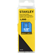Stanley Staples, Heavy Duty, 1/2 Inches