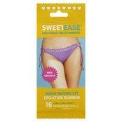 Sweetease Waxing Kit, Bikini, Vanilla, Wrapper