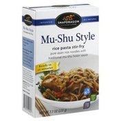 Snapdragon Rice Pasta Stir-Fry, Mu-Shu Style, Mild