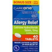 CareOne Allergy Relief Tablets Bonus